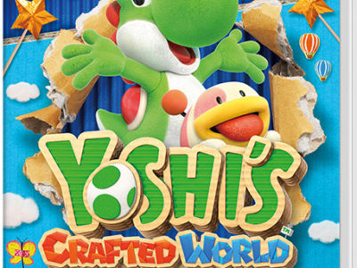 Yoshi's Crafted World, un dino en carton pour les joueurs en devenir.