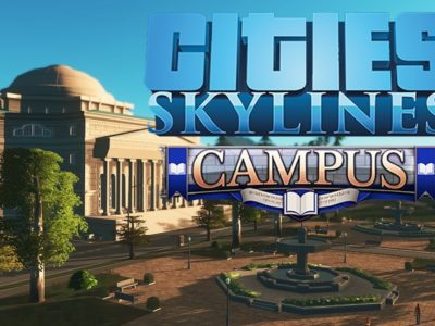 Plagiat à l'université! [Cities Skylines: Campus, PC]