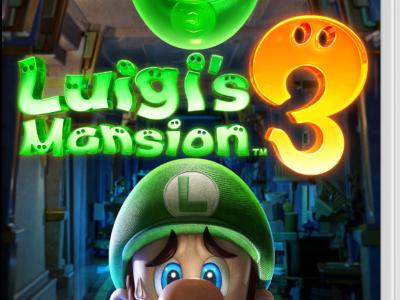 Le tenace fantôme [Luigi's Mansion 3, Switch]