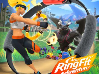 Le sueur de l'anneau [Ringfit Adventure, Switch]