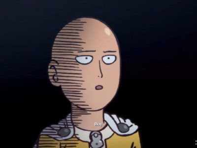 Okay. [One Punch Man : A Hero Nobody Knows, PS4]